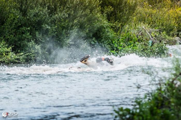 2016 rally albania przejazd przez wode