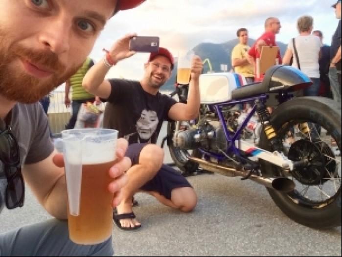 selfie motorrad days 2016
