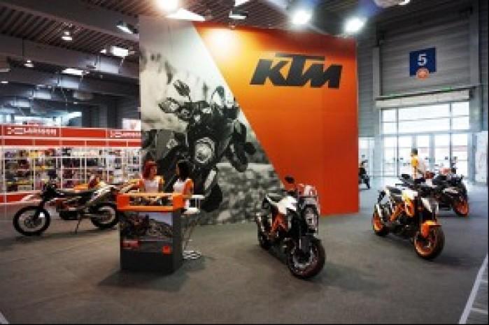 KTM Motor Show Poznan 2016