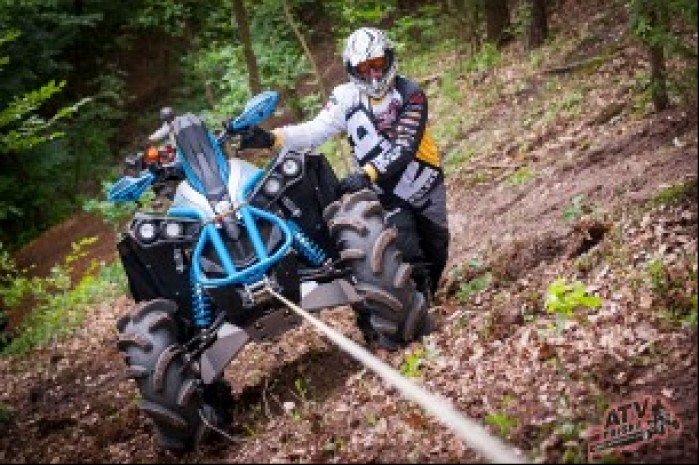 Quad Can am ATV 2016