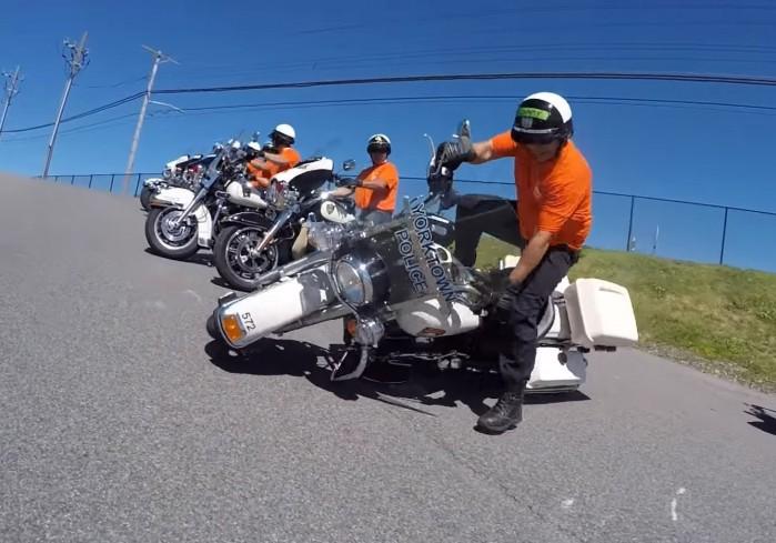 zbyt ciezki motocykl
