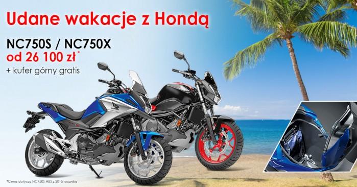 Promocja Honda NC
