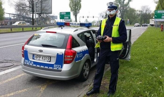 policja operator drona