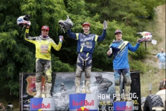 red bull romaniacs 2016 podium