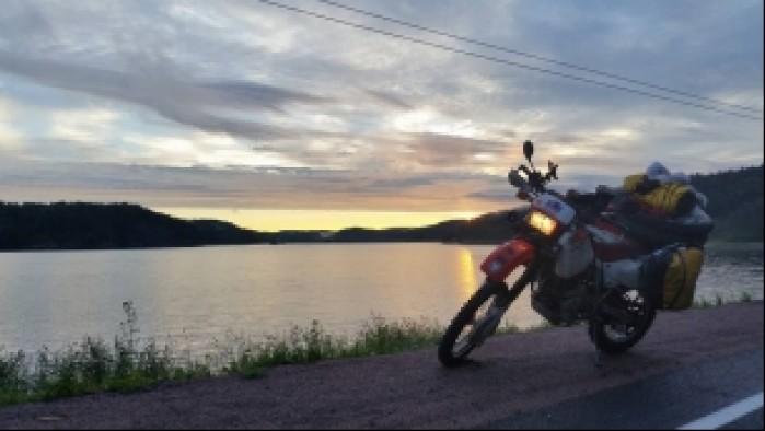 jezioro hondami na murmansk