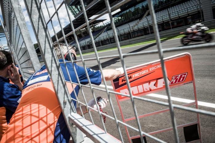 Testy KTM RC16 2016