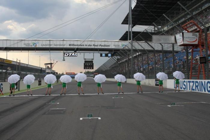 Lausitzring Circuit grid
