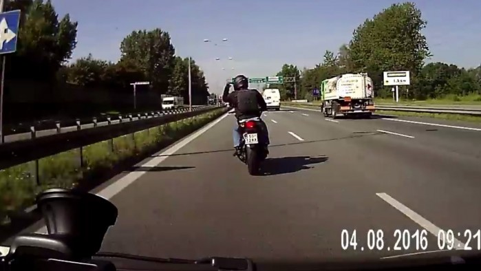 Motocyklista szeryf