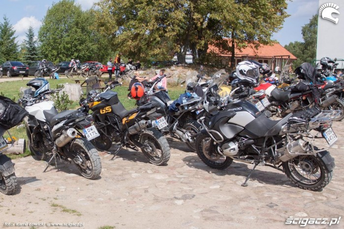 parking GS Trophy Dadaj 2015