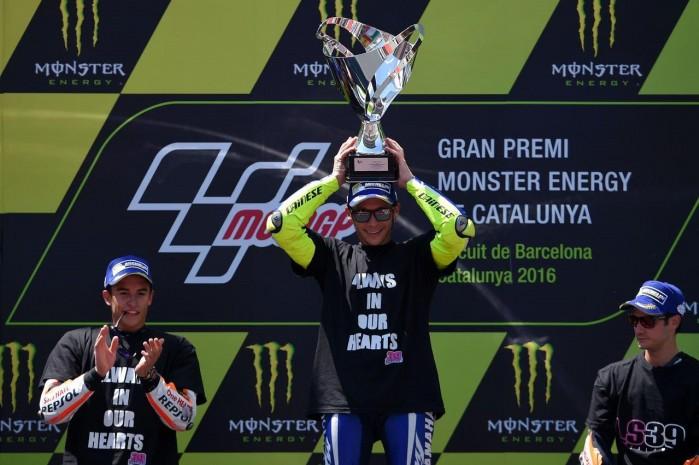 Podium motogp 2016 barcellona