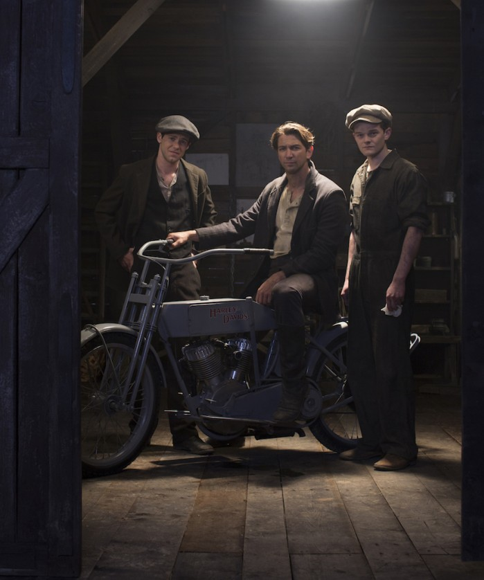 harley and the davidsons serial 2016