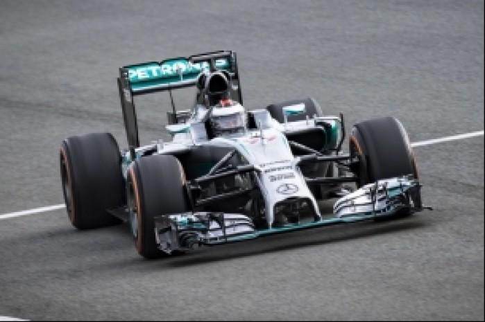 Lorenzo w samochodzie F1