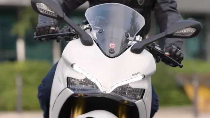 Ducati SuperSport czacha