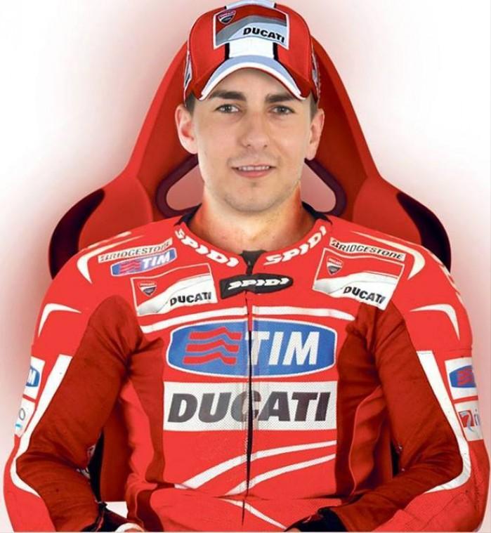 Ducati Jorge Lorenzo