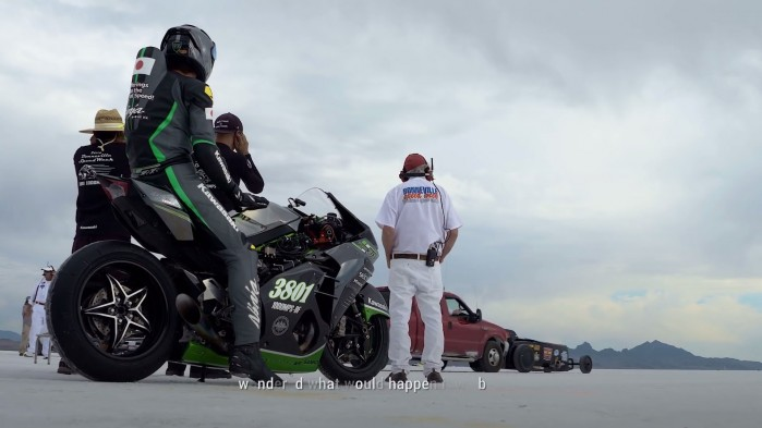 Ninja H2R Bonneville Speed Week