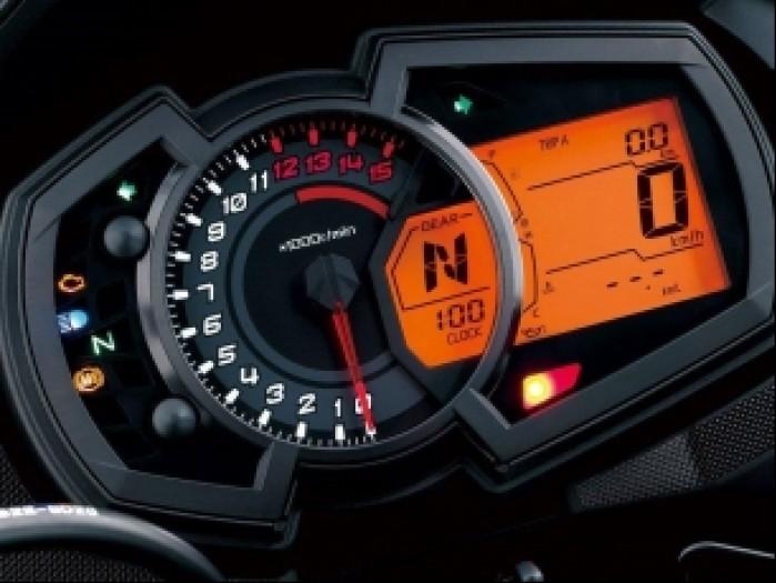 Kawasaki Versys X 300 wskazniki