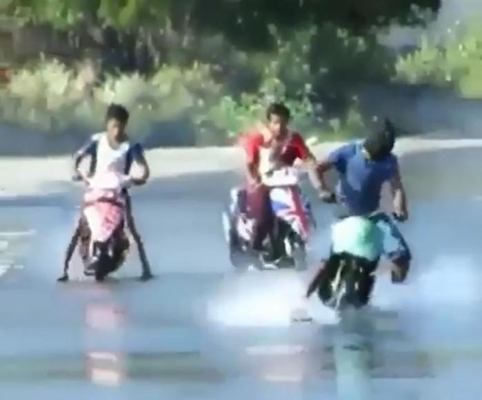 drift na skuterach
