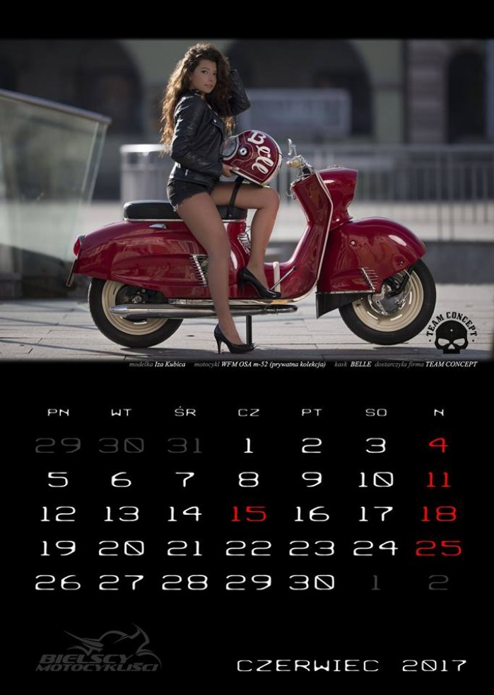 kalendarz motocyklowy
