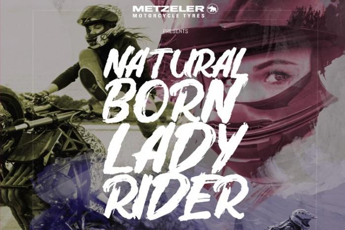 natural born lady rider metzeler