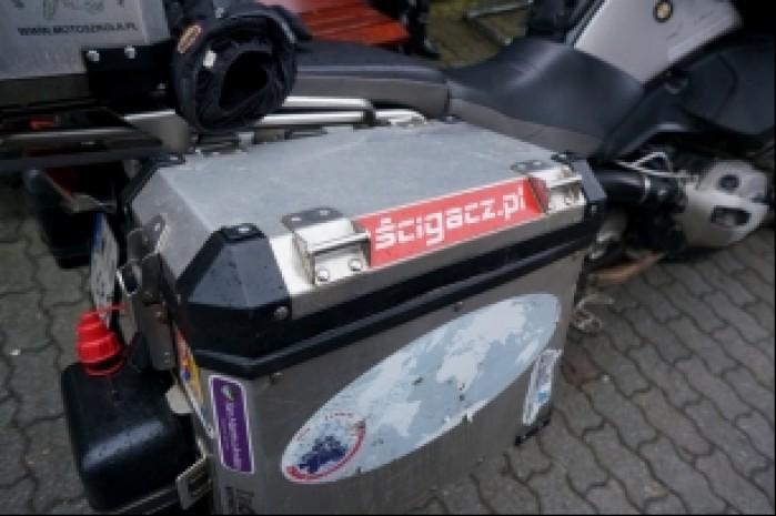 Wyprawa dookola swiata RTW Express kufer scigacz pl