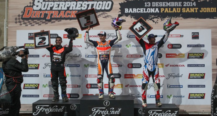 Superprestigio podium