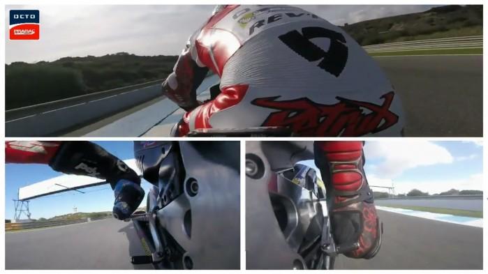 Zmiana biegow i hamowanie Pramac Racing