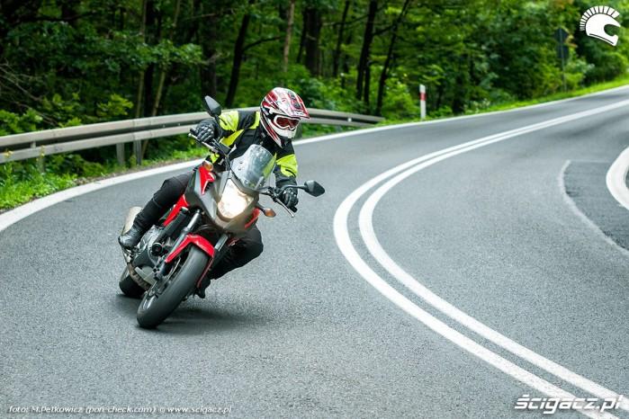 Honda NC700X w akcji