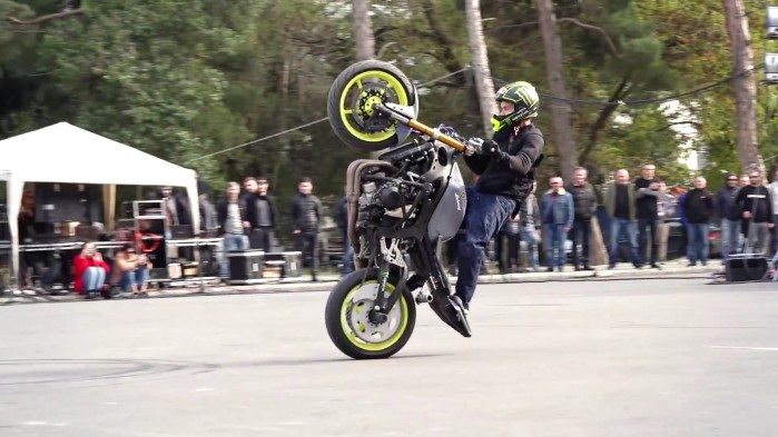 Wheelie Gruzja Mam talent