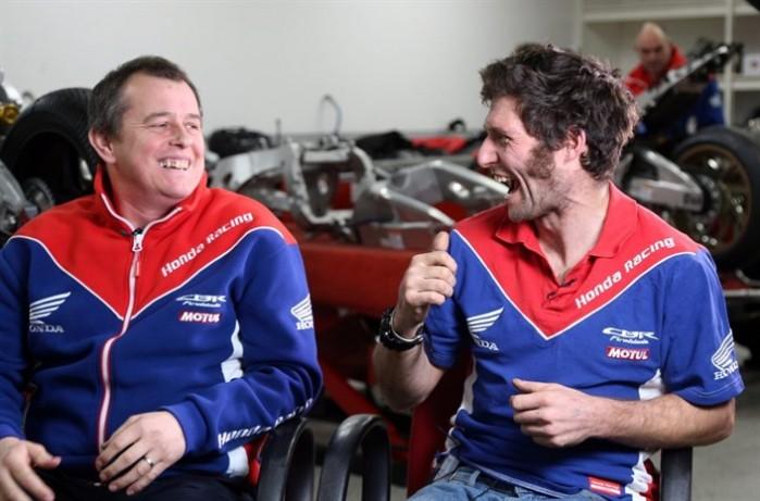 John McGuinness Guy Martin Honda Team 2017