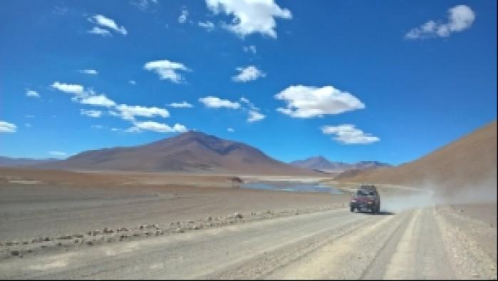 Ku granicy z Chile