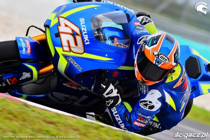 2017 Alex Rins Test Sepang