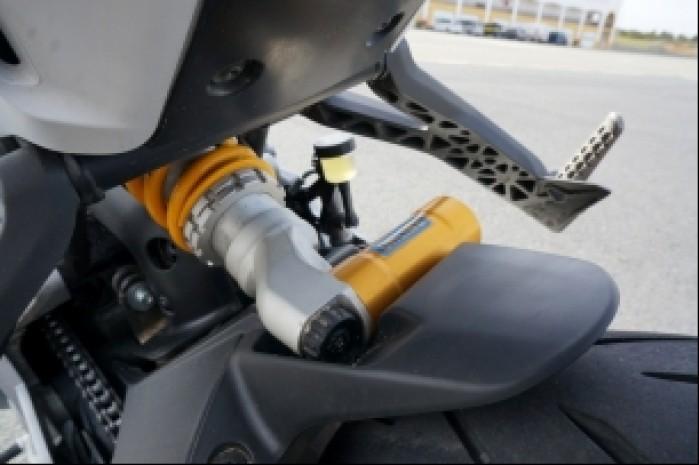 Ducati Supersport S zawieszenie Ohlins