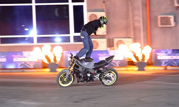 STUNTER 13 FINAL STAGE AT THE TALEN SHOW