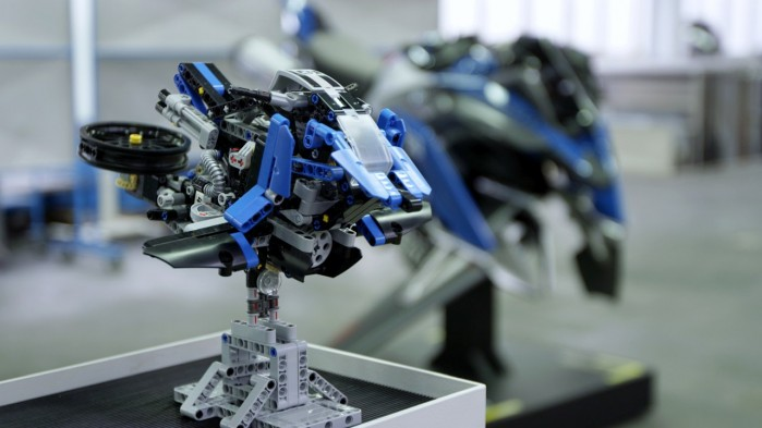 LEGO Technic motocykl
