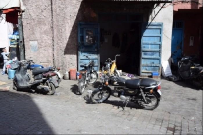 motocyklowy zlom