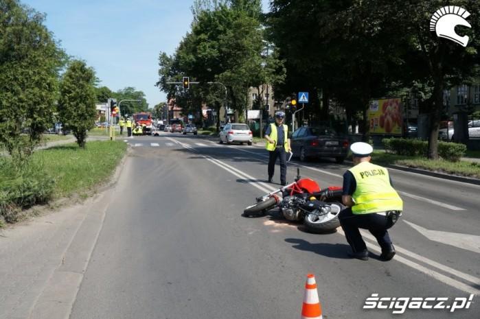 Wypadki motocyklowe 2016 sprzatanie