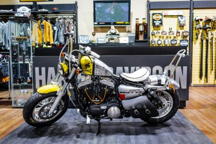 Bitwa Krolow 2017 Harley Davidson Sportster Lodz