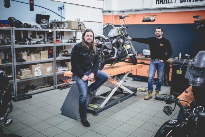 Bitwa Krolow 2017 Harley Davidson Sportster Lodz ekipa