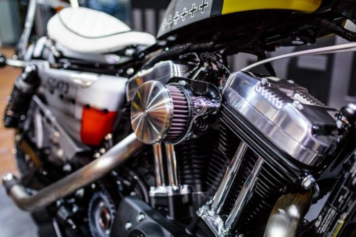 Bitwa Krolow 2017 Harley Davidson Sportster Lodz filtr