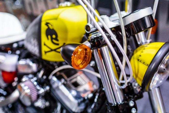 Bitwa Krolow 2017 Harley Davidson Sportster Lodz kierunkowskaz