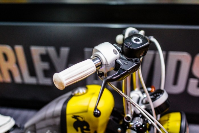 Bitwa Krolow 2017 Harley Davidson Sportster Lodz klamka