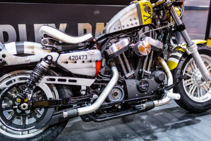 Bitwa Krolow 2017 Harley Davidson Sportster Lodz motor