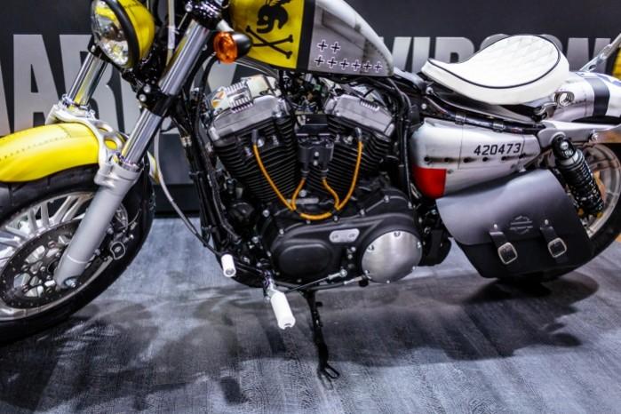 Bitwa Krolow 2017 Harley Davidson Sportster Lodz silnik