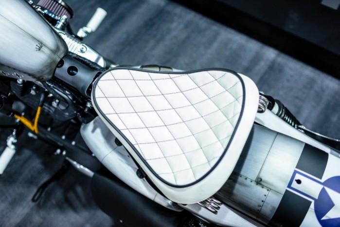 Bitwa Krolow 2017 Harley Davidson Sportster Lodz siodlo