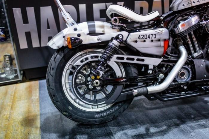 Bitwa Krolow 2017 Harley Davidson Sportster Lodz tylne kolo