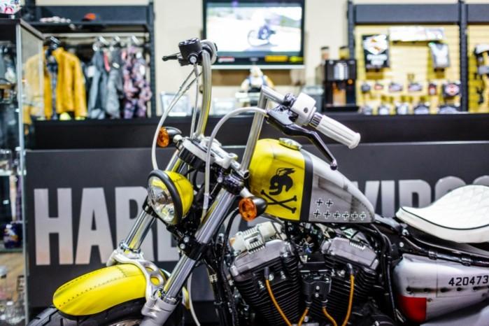 Bitwa Krolow 2017 Harley Davidson Sportster Lodz z bliska