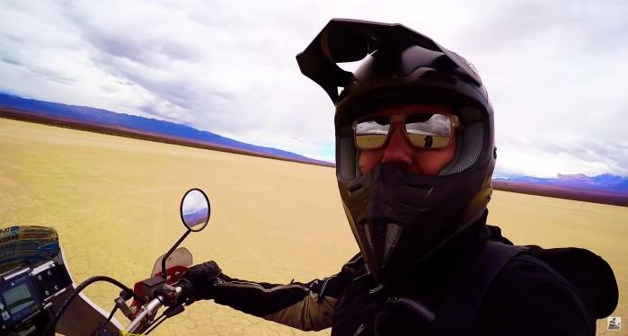 DJ ADAMUS Ameryka Poludniowa na motocyklu