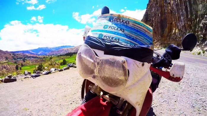 DJ ADAMUS motocyklu