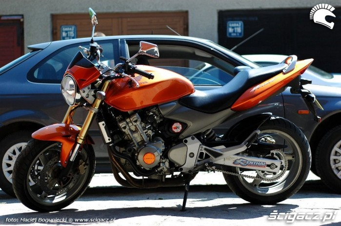 Honda CB600F Hornet 2005 profil