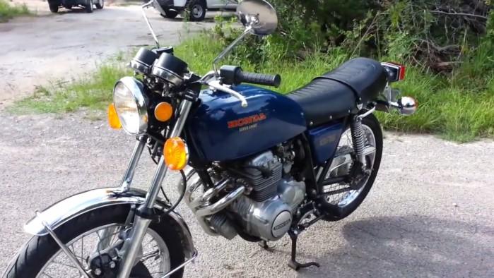 Honda CB 400 Four Super Sport z 1975 roku